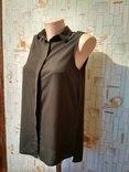 Блуза NEW LOOK, шифон, хаки, р-р 8 (36 евро) photo 2