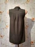 Блуза NEW LOOK, шифон, хаки, р-р 8 (36 евро) photo 3