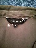 Блуза NEW LOOK, шифон, хаки, р-р 8 (36 евро) photo 4