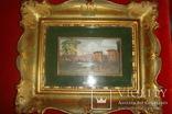 Картина Автор M. Maset, размер с рамой 27*20 photo 3