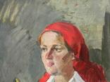 Картина портрет Советского работника photo 2