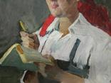 Картина портрет Советского работника photo 3