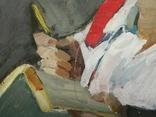 Картина портрет Советского работника photo 6
