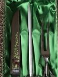 Винтажный набор Нож, мусат, вилка. SOLINGEN Гемания. photo 8