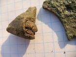 Амулет-топорик с частью топорища, фото 4