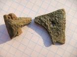Амулет-топорик с частью топорища, фото 9