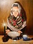 """""""Взгляд в будущее"""", масло. холст на подрамнике 70*60см 2012г, автор Янишевская Ю.В."""