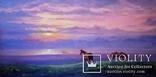 """""""Тихий вечер"""", масло,холст на подрамнике 100*50см , год 2017, автор Янишевская Ю.В."""