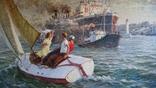 """Мокрожицкий В. Л. """"Встреча китобойной флотилии Слава"""" в 1956 г. photo 2"""
