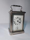 Каретные часы с будильником