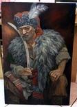 "Картина ""Гетьман Іван Сірко №2"" в большом размере, Холст масло."