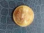 20$ США 1898 року, золото 900 проба. photo 1