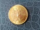 20$ США 1898 року, золото 900 проба. photo 6