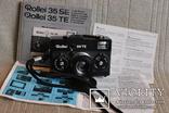 Фотоаппарат ROLLEI 35 TE Tessar f3.5/4 made bi Rollei, чёрного цвета.