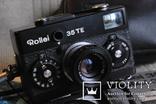 Фотоаппарат ROLLEI 35 TE Tessar f3.5/4 made bi Rollei, чёрного цвета. photo 3