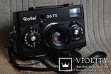 Фотоаппарат ROLLEI 35 TE Tessar f3.5/4 made bi Rollei, чёрного цвета. photo 6