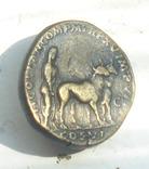 Сестерций имп. Коммода - в честь основания города Colonia Lucia Antoniniana