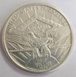США пол-доллара 50 центов 1936 aunc Арканзас