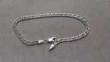 Браслет ''Двойной ромбо'', серебро 925.
