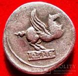 Римская республика - Q. Тициуса Пегас . Рим , 90 до н.э.