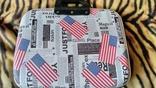 Сумка для ноутбука, документов c флагом США 14 дюймов