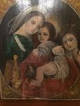 """""""Св.Мария с младенцем""""- 19 век."""