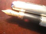 Перьевая ручка серебро 925 перо Иридий, фото №8