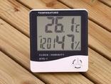 Метеостанция 3 в 1- Часы,Гигрометр,Влагометр HTC-1, лот 2