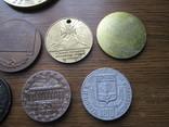 Настольные медали 11 шт, фото №7
