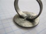 Серебряный перстень Галыцко - Волынского княжества 13 - 14 века . photo 5