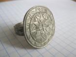 Серебряный перстень Галыцко - Волынского княжества 13 - 14 века . photo 1