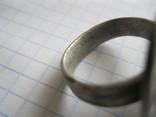 Серебряный перстень Галыцко - Волынского княжества 13 - 14 века . photo 6