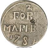 Форт Мальборо, 2 сукус 1784 года (Британская колония на Суматре)