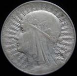 10 злотих 1932 року, Річ Посполита, «Ядвіга», срібло