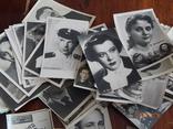 Коллекция открыток советских артистов 1946-1975гг. 130шт.