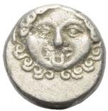 Аполлонія Понтіка (350-250 до н. е.) срібна