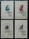 1955 г. Китай Ученые Древнего Китая (**) Почтовые блоки
