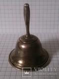 Коллекционный серебряный колокольчик