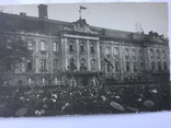 Всенародный праздник 1-го Мая . Петроград 18-го апреля 1917 года . Две открытки .