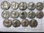 Рим денарии 14 монет