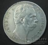 5 лир 1879 5 лир 1879, Умберто 1, Рим photo 1