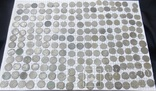 Соліди 205 шт. цілих, кучка зламаних і 64 шт. фальшаки