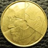 5 франків Бельгія 1987 Belgique, фото №3
