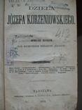 Dziela J. Korzeniowskiego Warszawa 1873, фото №2