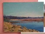 """"""" Река Случь. Осень"""". 2010 г. С. Берестов. photo 1"""
