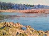 """"""" Река Случь. Осень"""". 2010 г. С. Берестов. photo 3"""