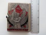 Портсигар СССР эмали,позолота, до 1940 года, серебро 171,56 грамм photo 2