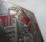 Портсигар СССР эмали,позолота, до 1940 года, серебро 171,56 грамм photo 6