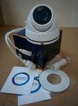 IP видеокамера 2 MP SONY металлическая с POE + слот для карт памяти