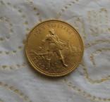Сеятель / червонец 1923 года СССР золото 8,6 грамм 900` photo 1
